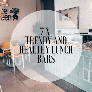 7x trendy and healthy lunch bars in Valencia