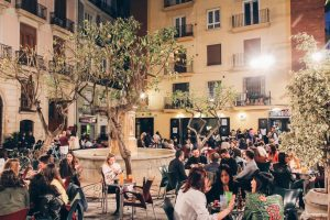 Placa Negrito - nice square in Valencia to have some drinks